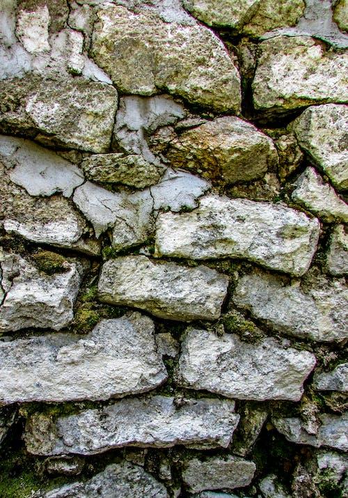 Free stock photo of background image, grey, rocks, stone wall