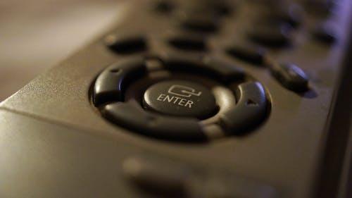 Free stock photo of enter, remote control