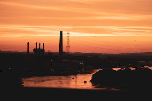 Základová fotografie zdarma na téma brzy východ slunce, estetické pozadí plochy, estetický