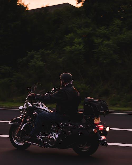 Základová fotografie zdarma na téma jízda, motocykl, motocyklista