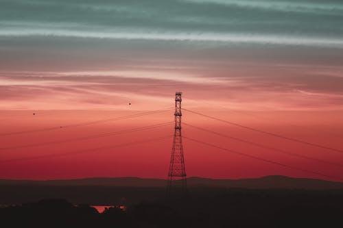 Základová fotografie zdarma na téma barva, brzy východ slunce, elektřina