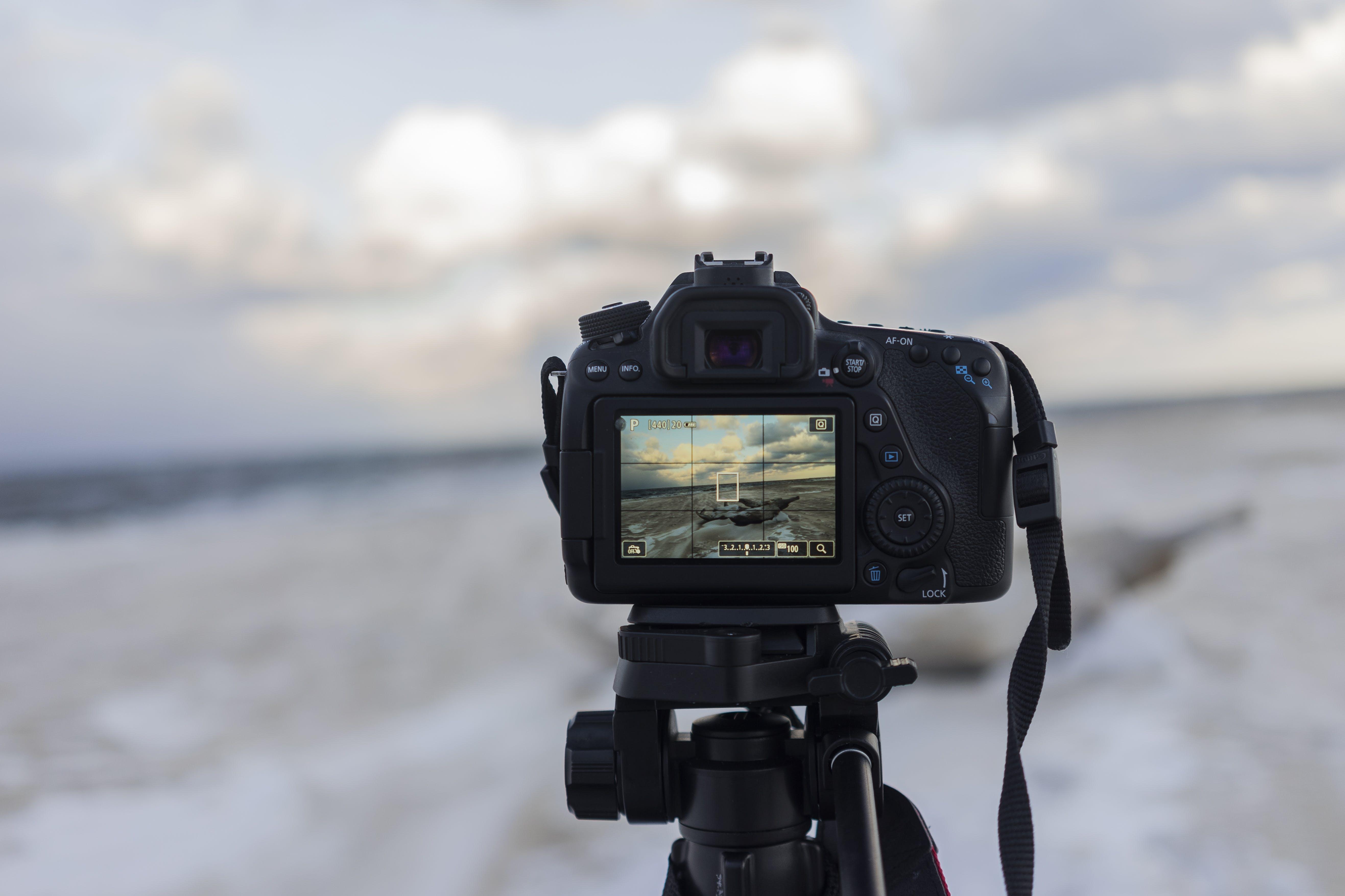 Kostenloses Stock Foto zu bildschirm, dlsr, draußen, freizeit