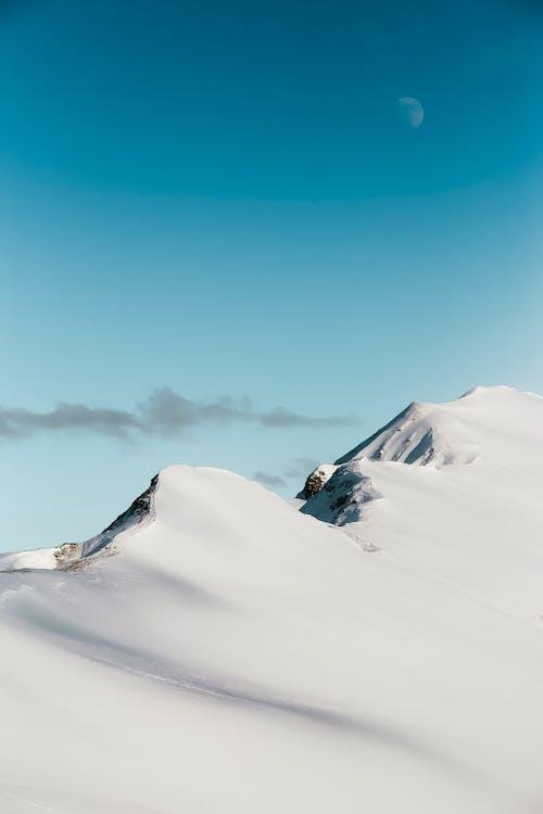 dağ, doğa, gökyüzü, kar içeren Ücretsiz stok fotoğraf