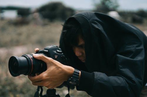 Gratis lagerfoto af fotograf, kamera, linse, mand