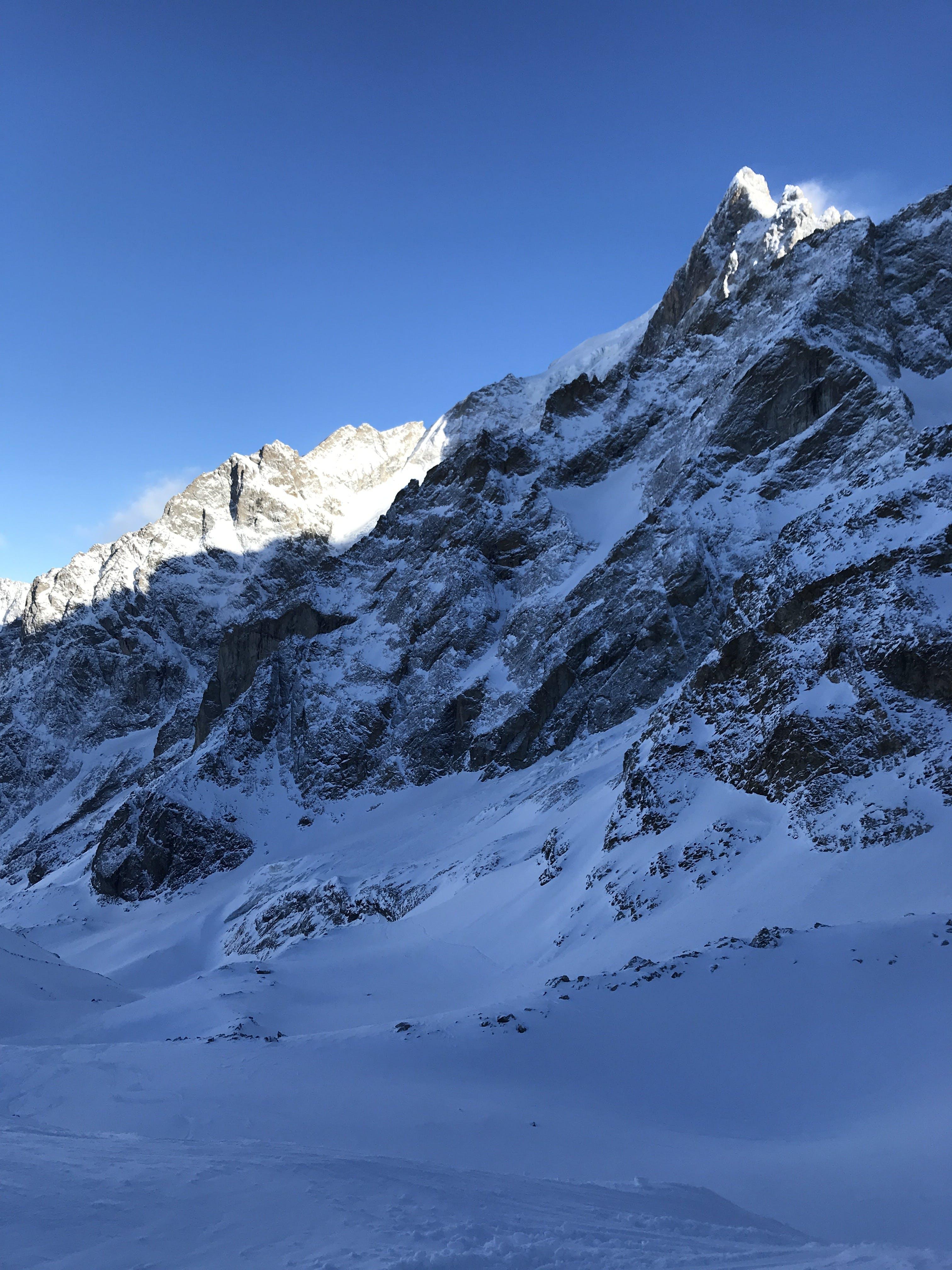 Kostenloses Stock Foto zu berg, schnee