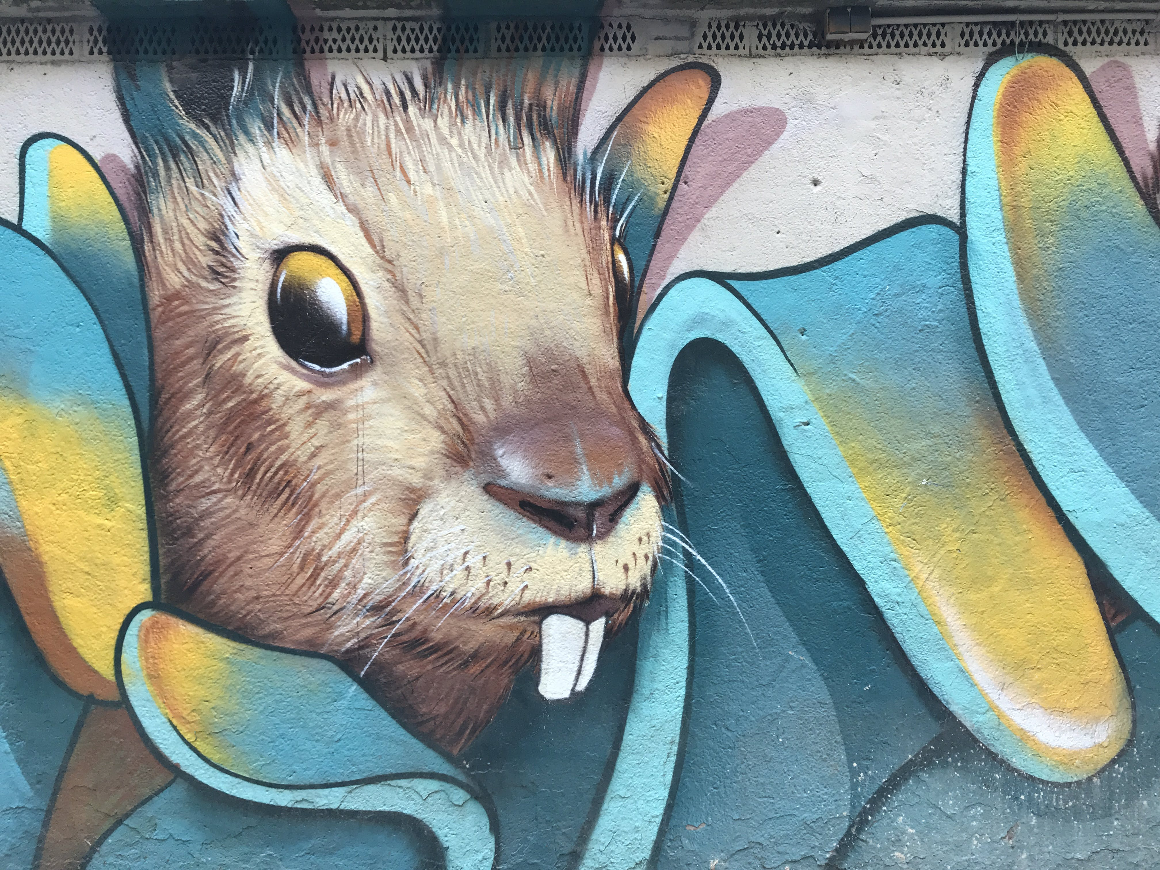 Brown Bunny Painting