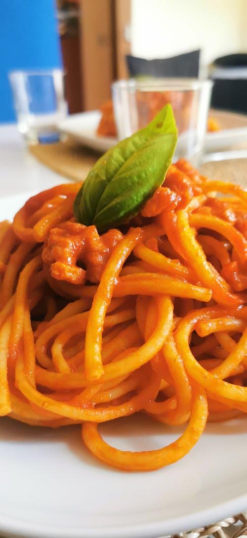 Free stock photo of basilico, italian food, pasta