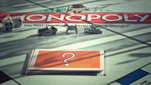 Close Up Photo of Monopoly Board Game