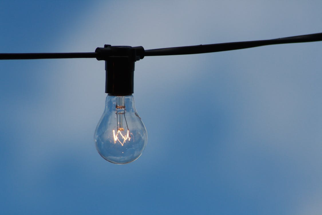 กระเปาะ, พลังงาน, สว่าง