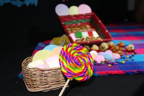 Foto d'estoc gratuïta de Caramel, colorit, de colors, dolç