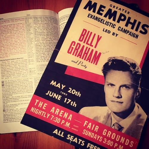 Free stock photo of billy graham