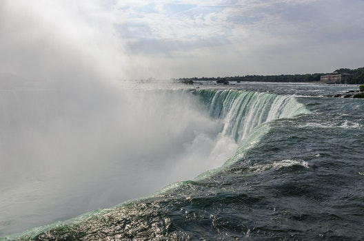 Free stock photo of water, mist, river, waterfall