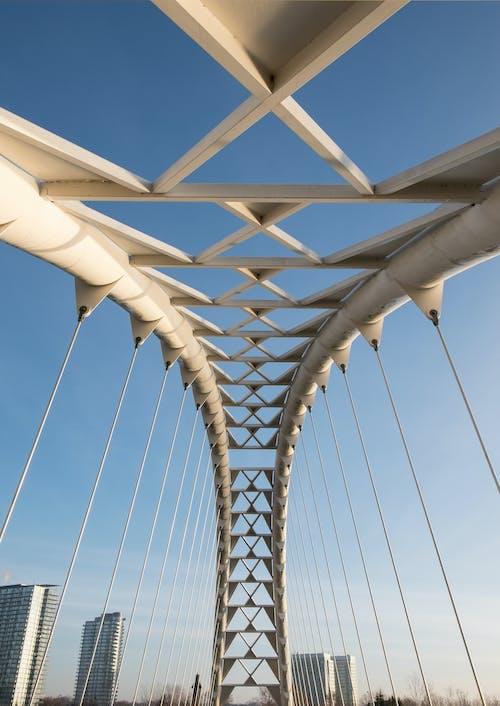 Fotobanka sbezplatnými fotkami na tému centrum mesta, humber bay arch bridge, most, oblúkový most