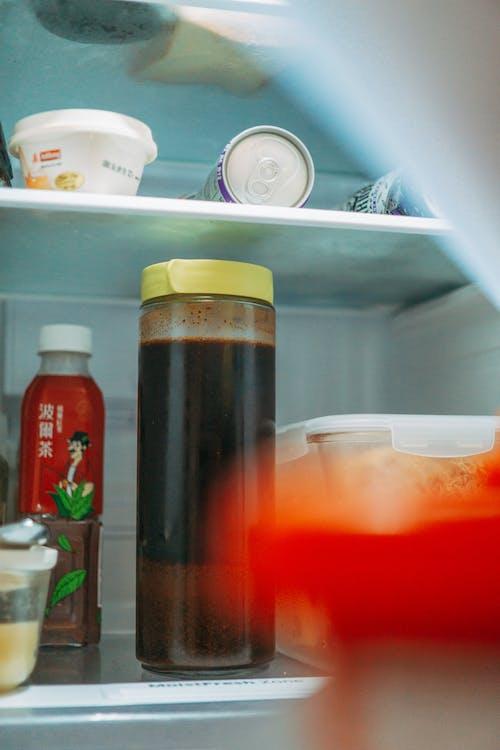 Imagine de stoc gratuită din băuturi, congelator, conservat