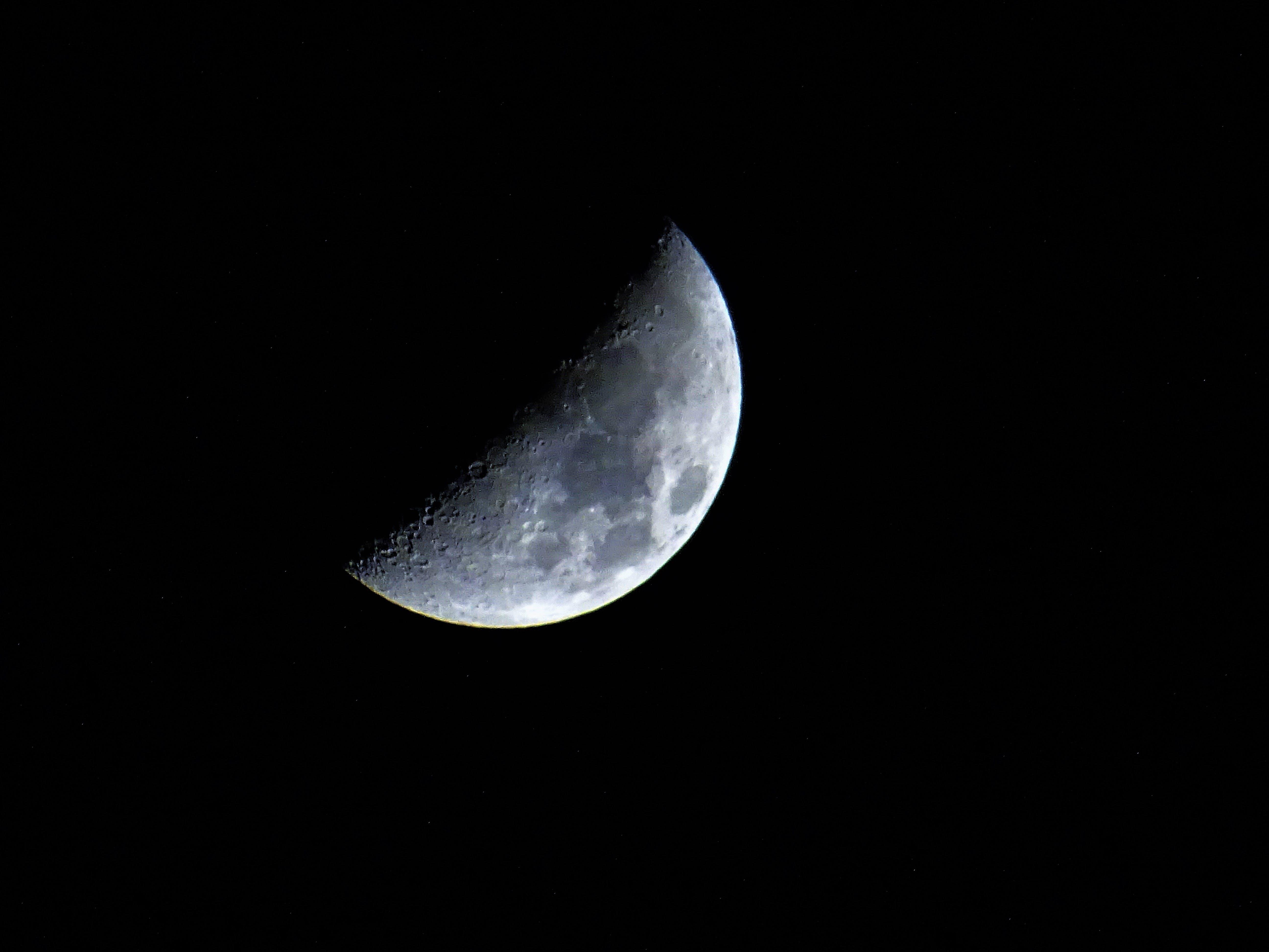 คลังภาพถ่ายฟรี ของ กลางคืน, คราส, จันทรคติ, จันทรา