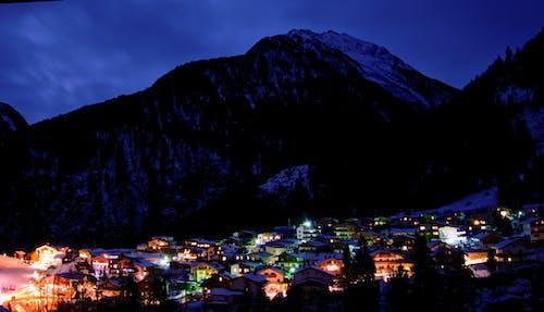 Ảnh lưu trữ miễn phí về làng, lạnh, màu xanh da trời, mùa đông