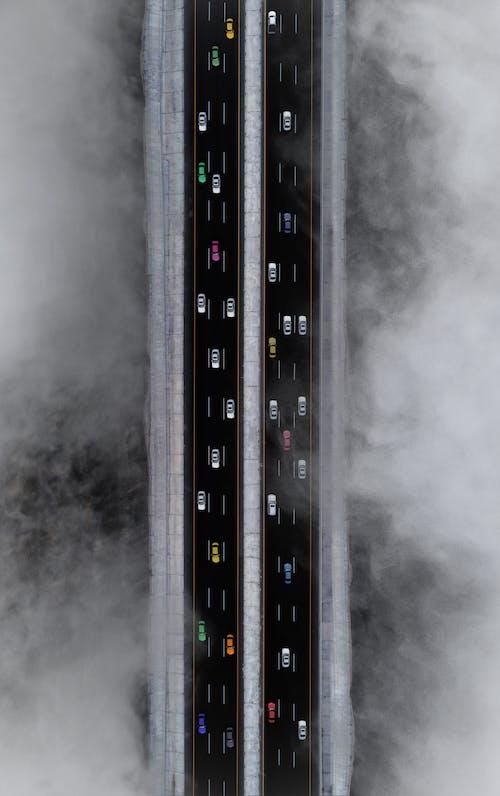 Imagine de stoc gratuită din autostradă, autoturisme, carosabil