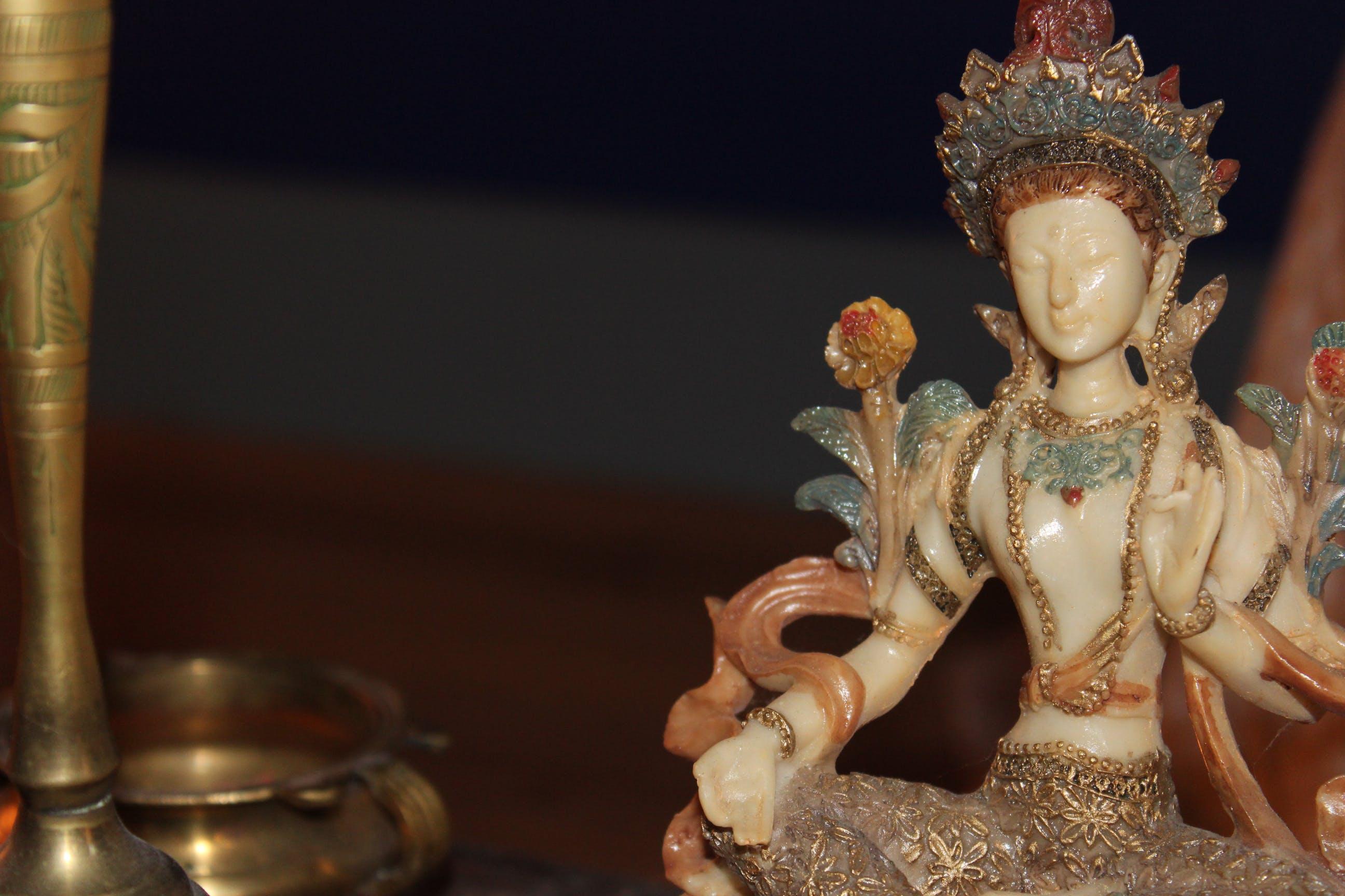 Free stock photo of Buddhism, Guan Yin, hinduism, statue