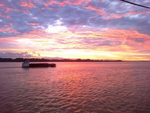 Foto d'estoc gratuïta de aigua, barca de pesca, mar, oceà
