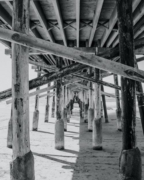 Бесплатное стоковое фото с ньюпорт бич пир, пирс, пляж