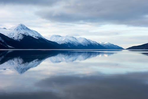 Immagine gratuita di acqua, acque calme, alto, cielo