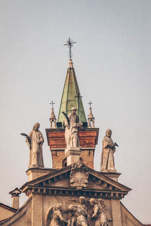 Photo of Statues on Tower