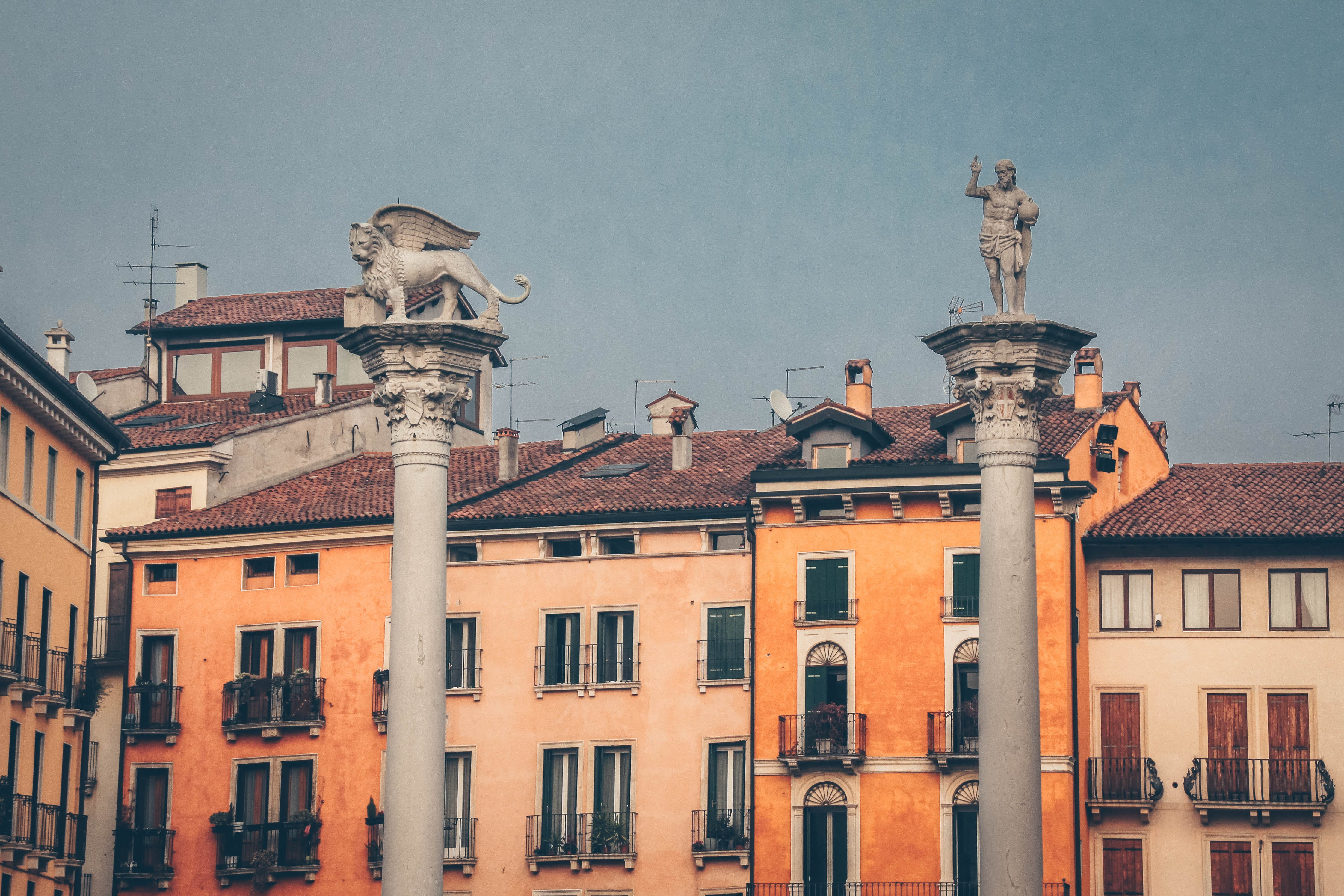 Free stock photo of sky, buildings, italy, vicenza