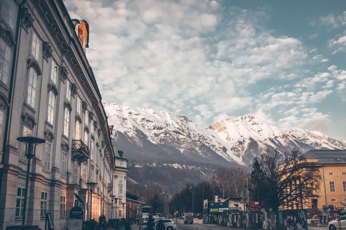 bergen, innsbruck, Oostenrijk