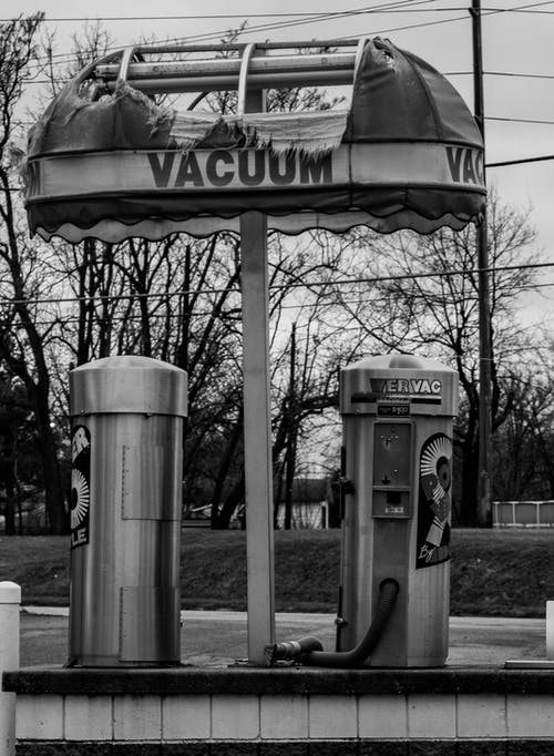 Free stock photo of black and white, tattered, vacuum