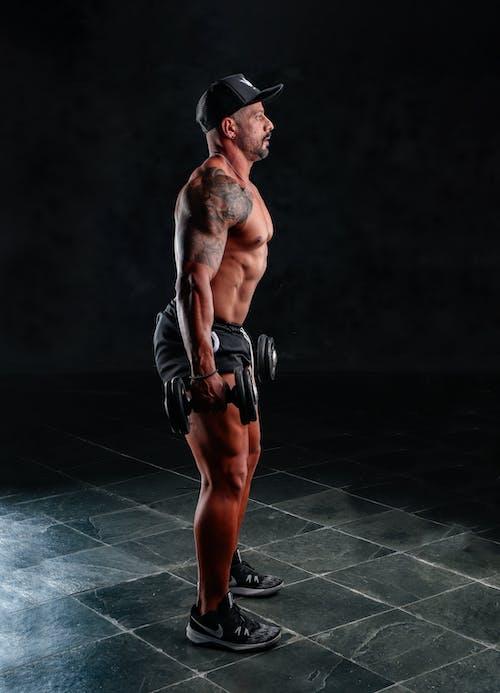 人, 健身, 半裸 的 免费素材图片