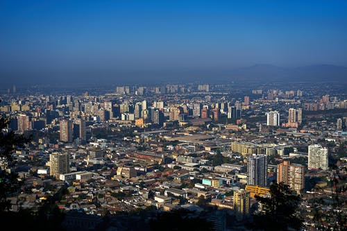 Top View Photo of Concrete Buildings