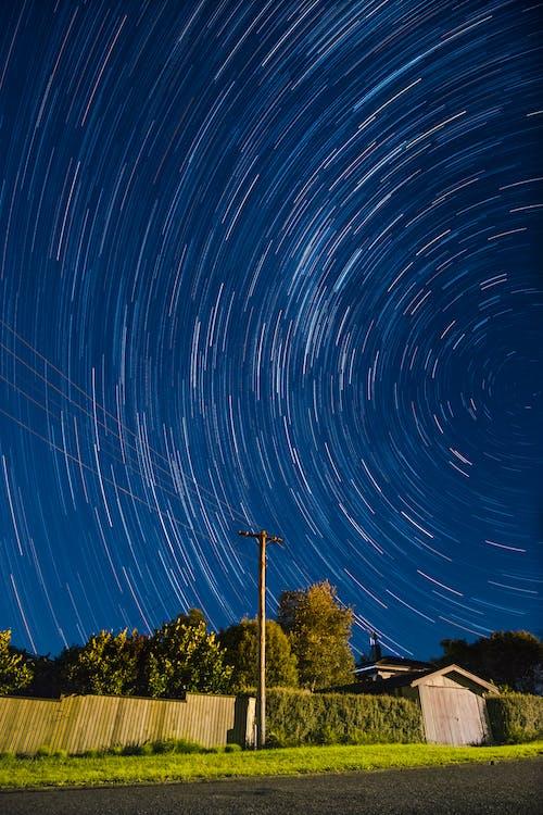 Foto stok gratis artis, bintang jatuh, fotografi malam, galaksi