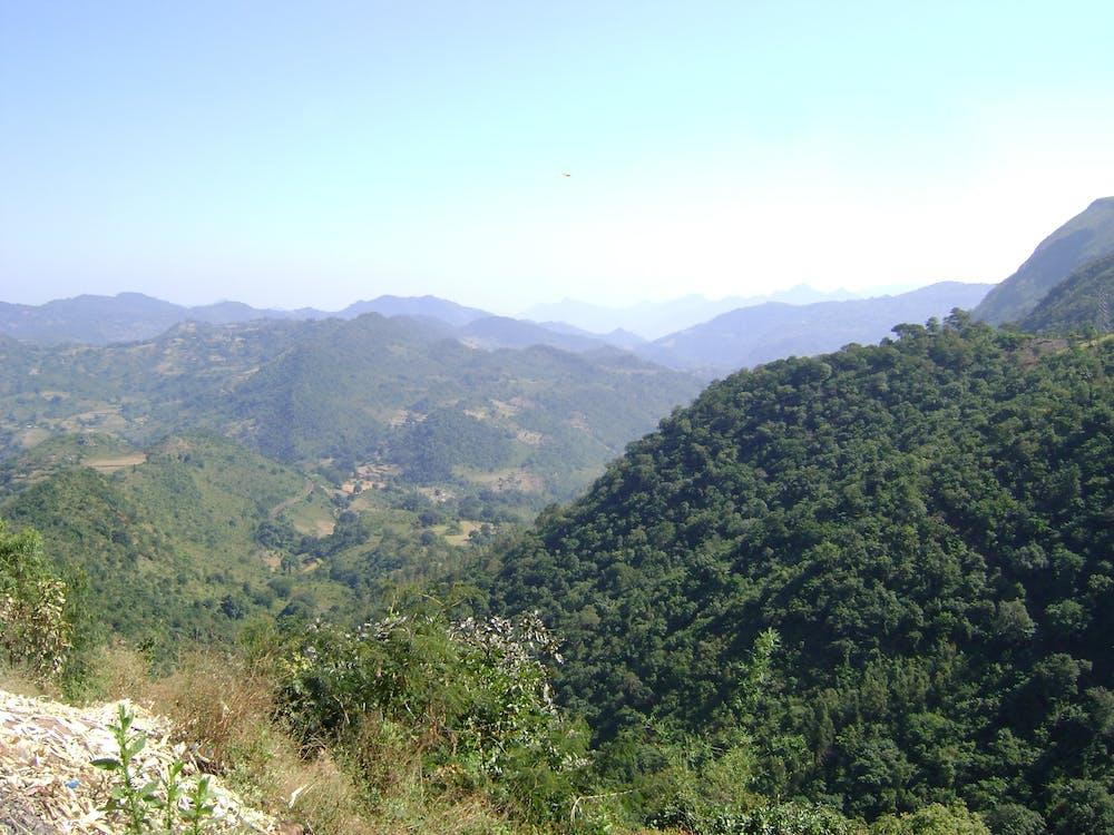 Free stock photo of valleys n mountains