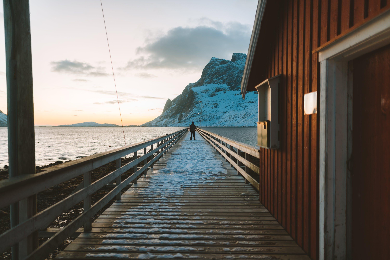 Gratis lagerfoto af anløbsbro, arkitektur, badebro, hav