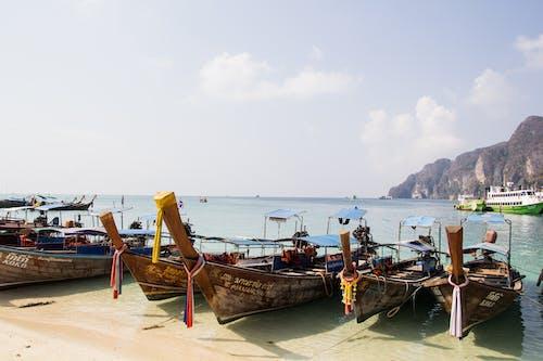 คลังภาพถ่ายฟรี ของ กลางวัน, ชายทะเล, ชายหาด, ทราย