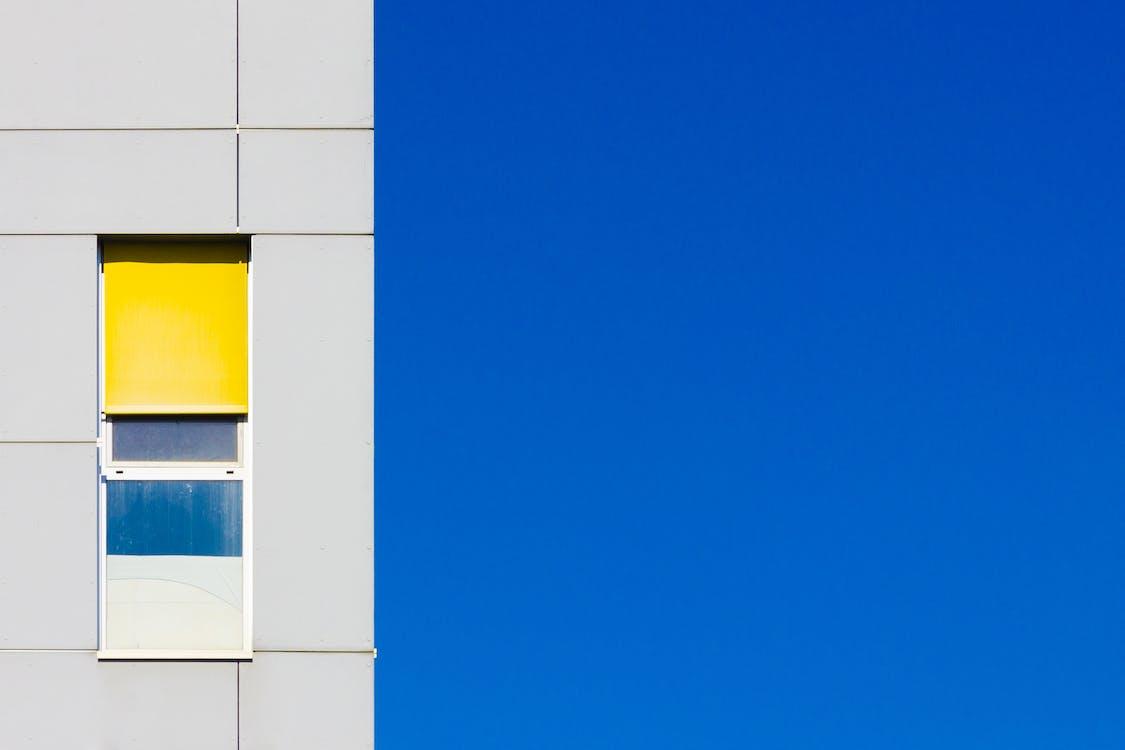 all'aperto, arte, azzurro