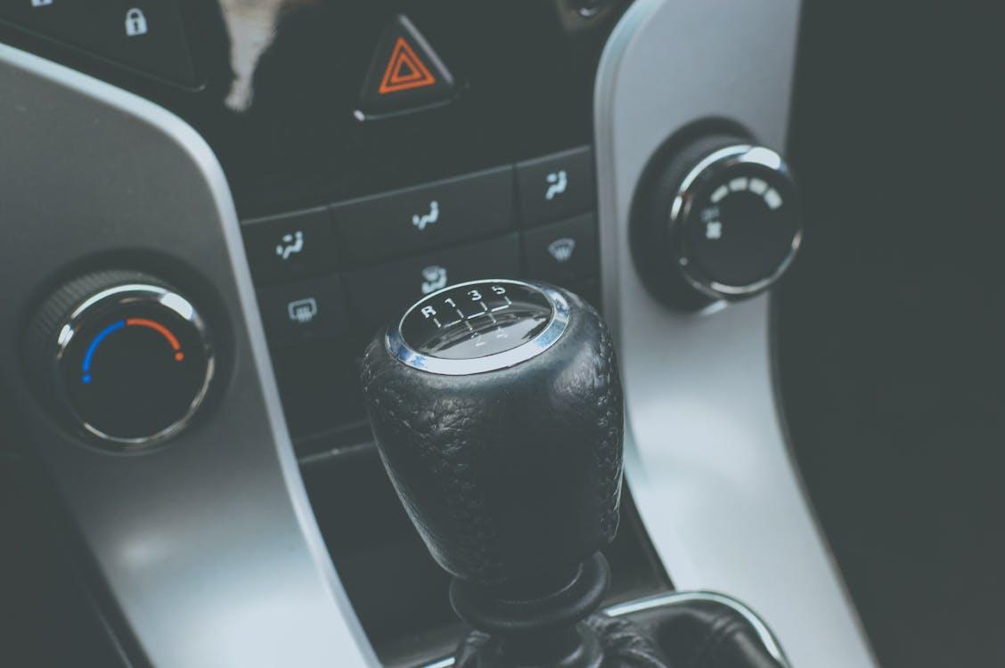 Black Manual Gear Stick