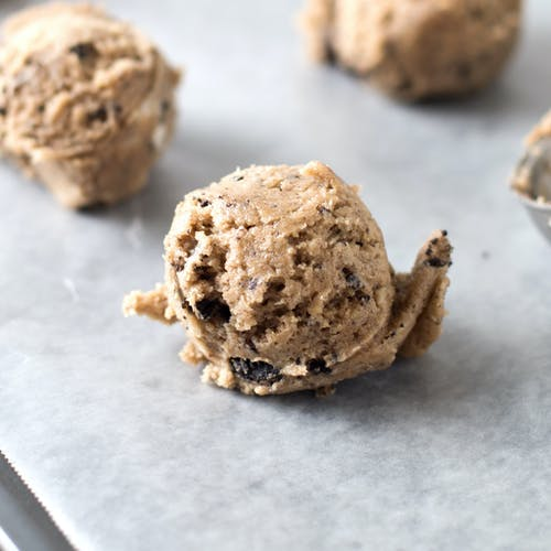 Free stock photo of cookie, cookie dough, edible cookie dough