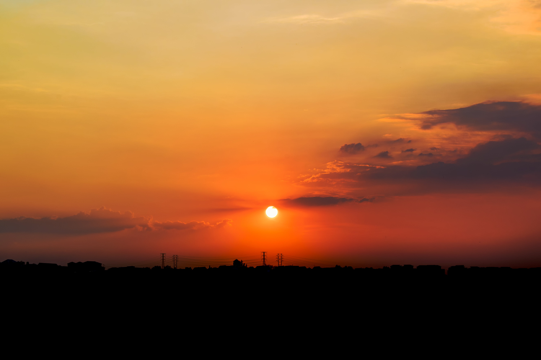Kostnadsfri bild av bakgrundsbelyst, dramatisk, gryning, gyllene timmen