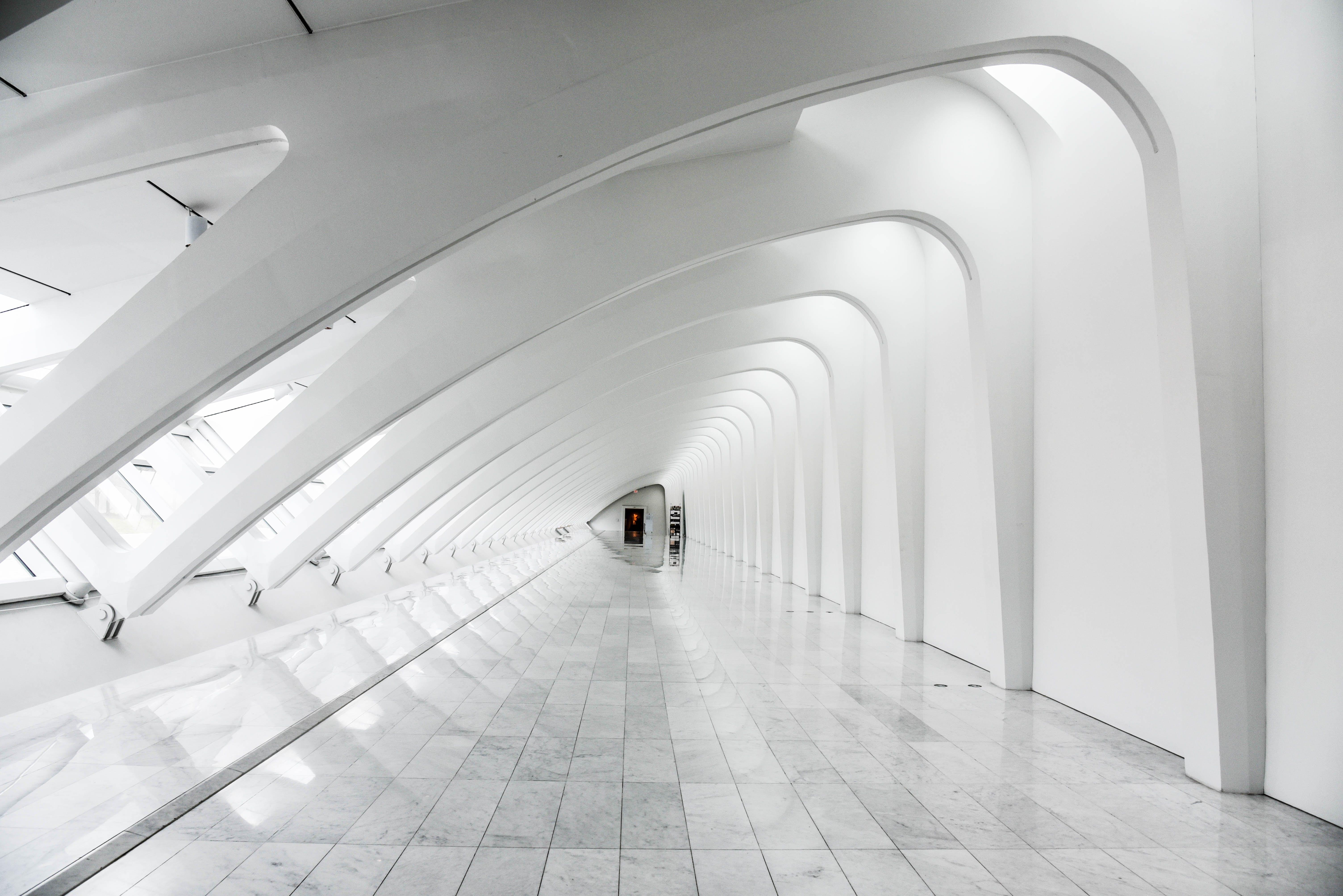 Kostenloses Stock Foto zu architekt, architektur, boden, decke