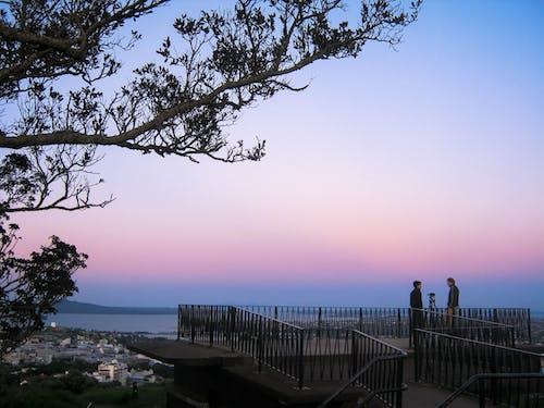 Photos gratuites de ciel du soir, coucher de soleil