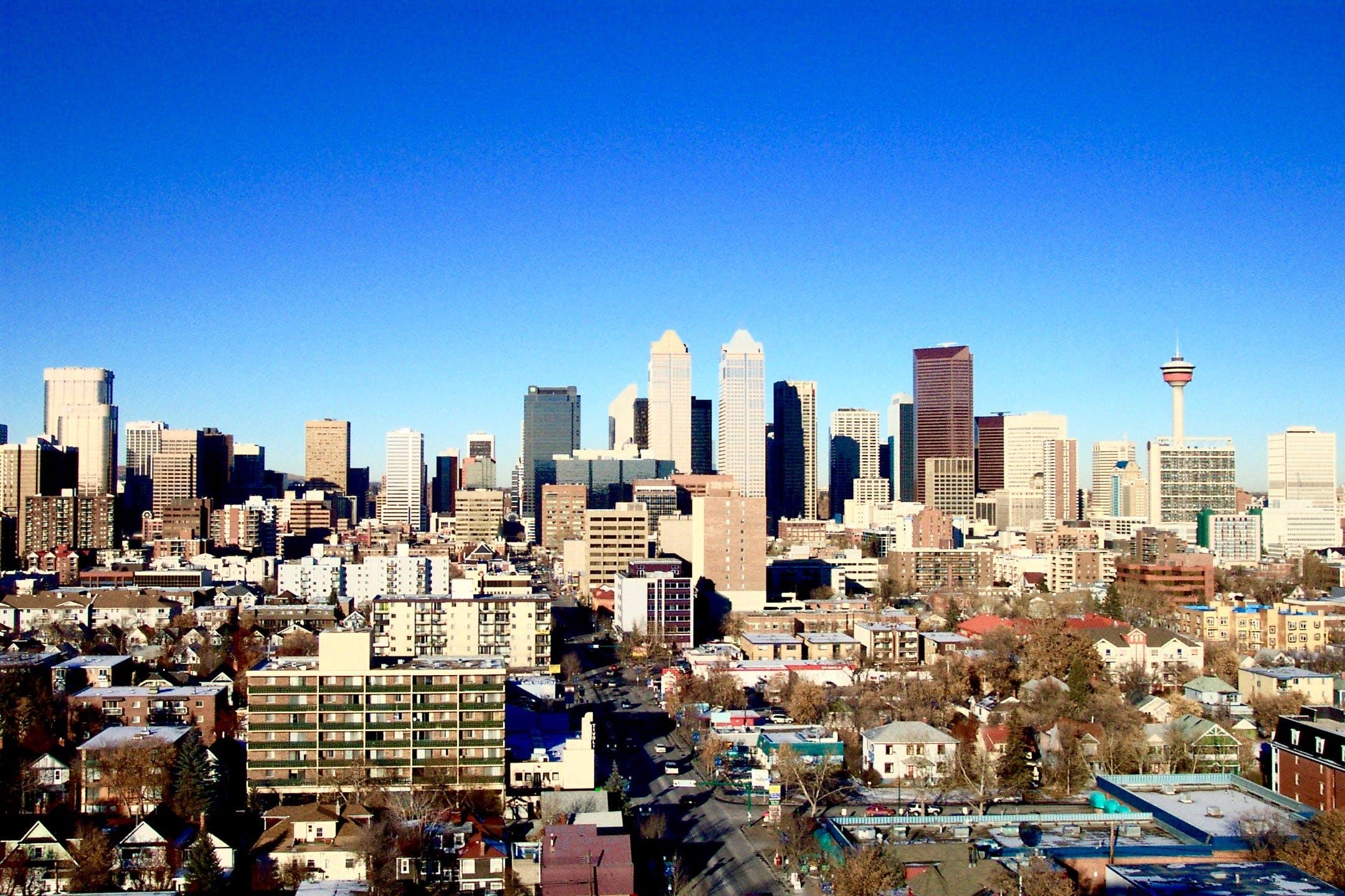 Free stock photo of Calgary Downtown