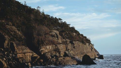 Kostenloses Stock Foto zu berg, insel, küste, landschaft