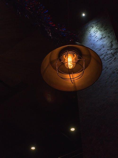 Imagine de stoc gratuită din bec, închis la culoare, lumină, luminos