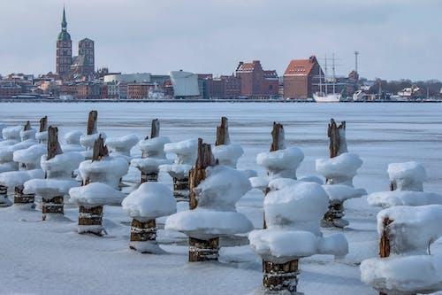 Darmowe zdjęcie z galerii z panorama, widok panoramy, zima