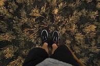 man, person, feet