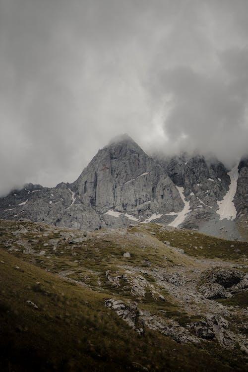 Foto stok gratis air, awan, batu