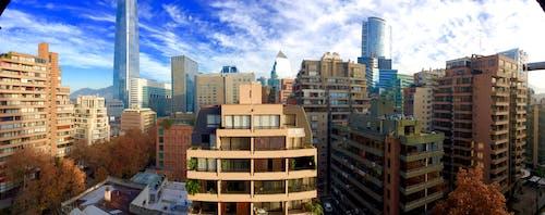 Darmowe zdjęcie z galerii z santiago chile city scape downtown