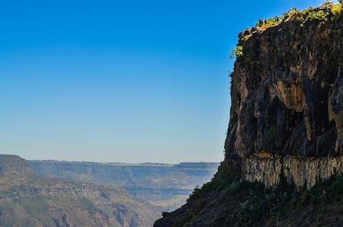 Kostenloses Stock Foto zu berge, canyon, felswand, himmel