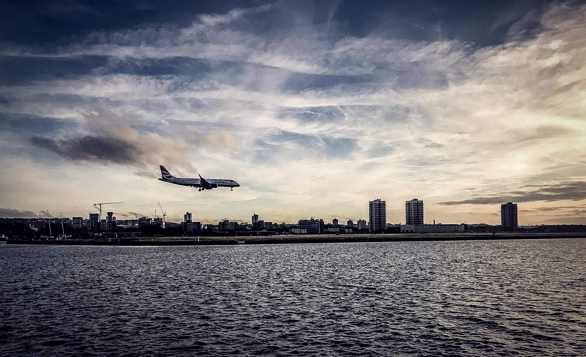 คลังภาพถ่ายฟรี ของ การบิน, คลื่น, ตอนเย็น, ตะวันลับฟ้า